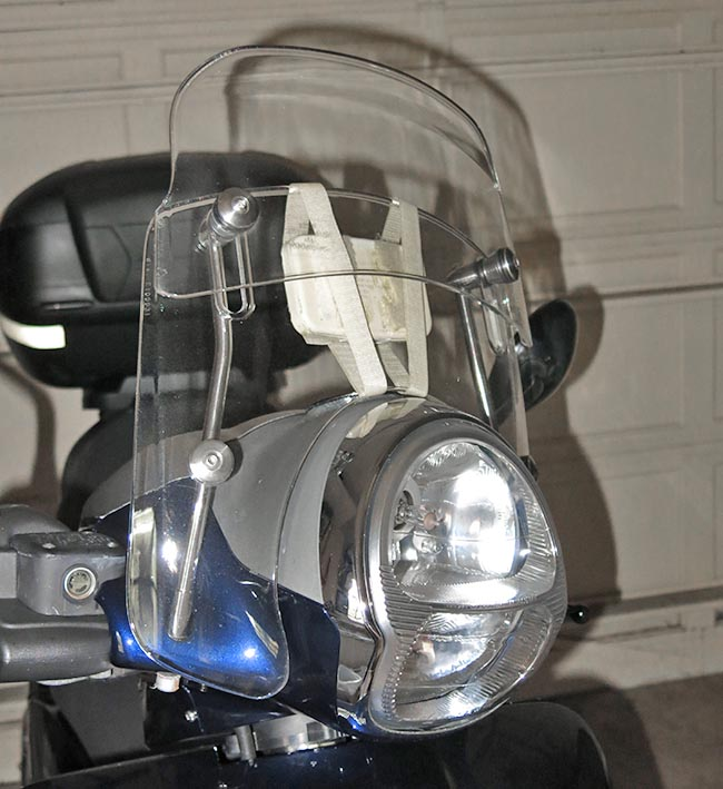 Florida Sun Pass Motorcycle Holder