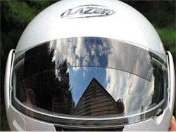 Motorcycle sun shield - sun shade