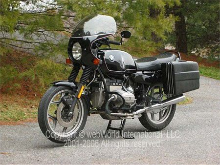 BMW R65 Front