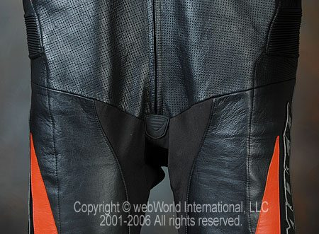 GiMoto Custom Motorcycle Leathers - Torso Perforations