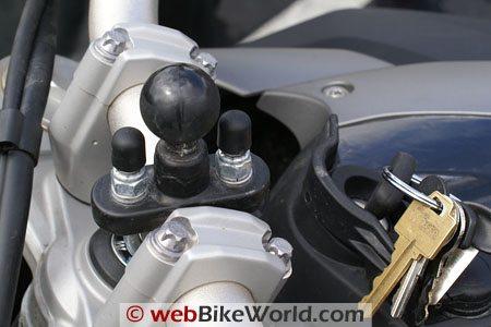 BMW F 800 GS - GPS Mount