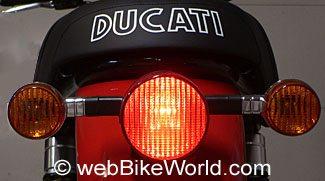 ducati gt1000 brake light bulb replacement webbikeworld. Black Bedroom Furniture Sets. Home Design Ideas
