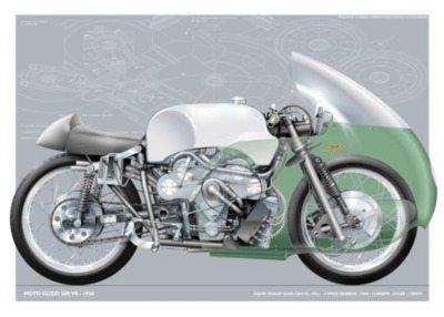 1956 Moto Guzzi V8 Racing Motorcycle