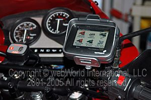 TomTom Rider Handlebar mount