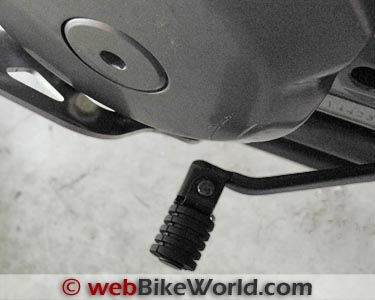Suzuki DR650 Shift Lever - webBikeWorld