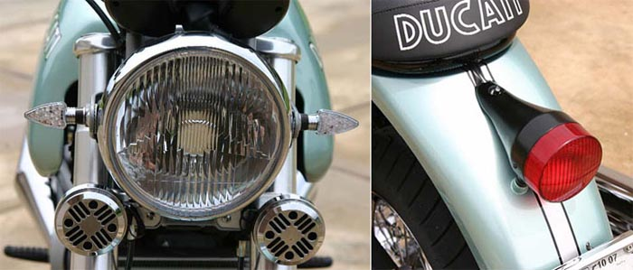 Custom headlight and tail light