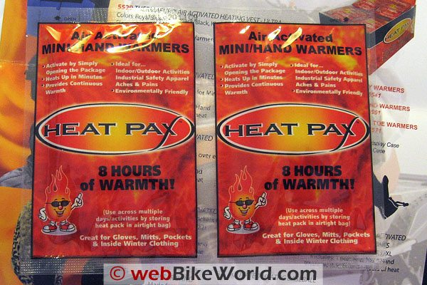 Air Activated Heat Packs