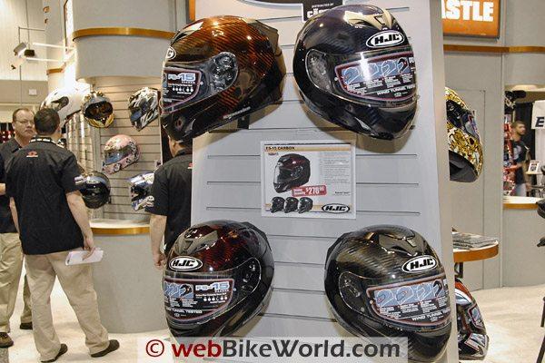 HJC FS-15 Carbon Motorcycle Helmet