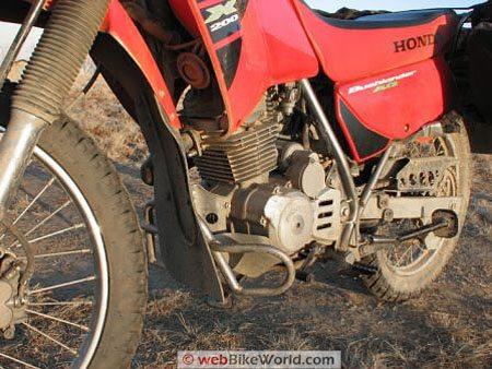 Honda CTX200 Bushlander - Engine