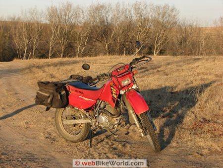 Honda CTX200 Bushlander - Front View