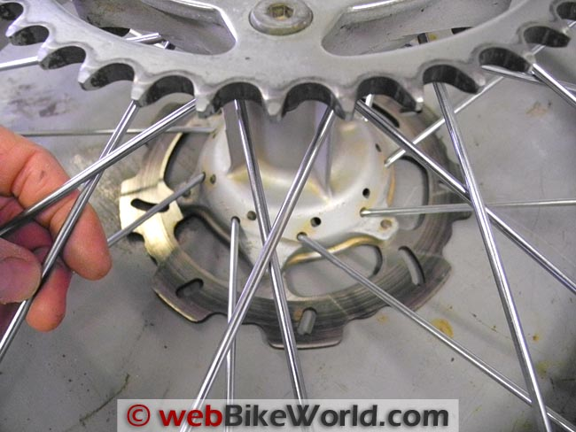 Installing the Spokes