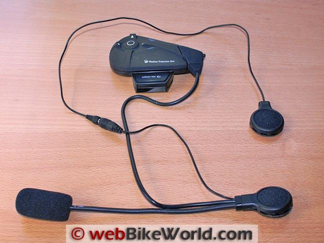 Interphone F5 Intercom Module and Headset