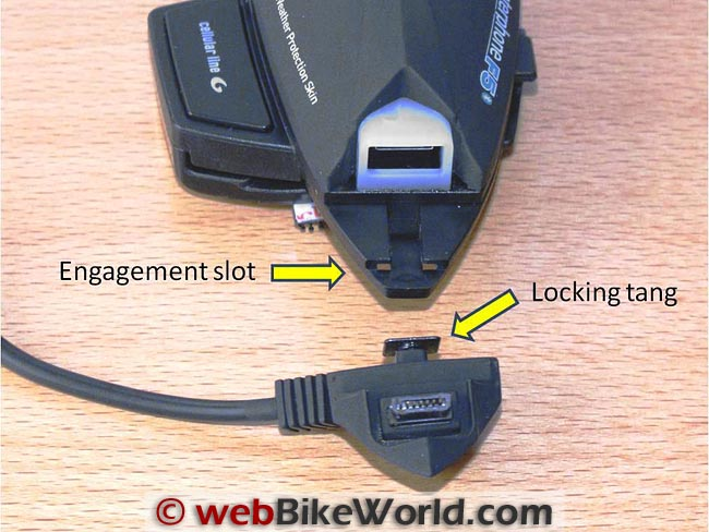 Interphone F5 Locking Tang