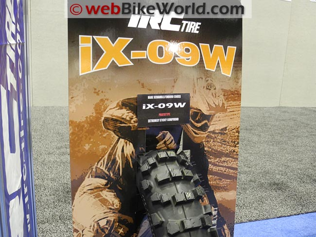 IRC IX-09W Motorcycle Tire