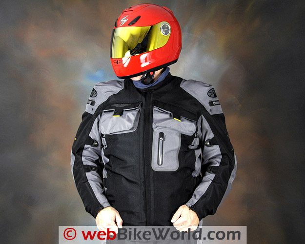Joe Rocket Dry Tech Nano Jacket - Front View