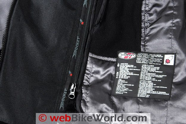 Joe Rocket Dry Tech Nano Jacket Liner
