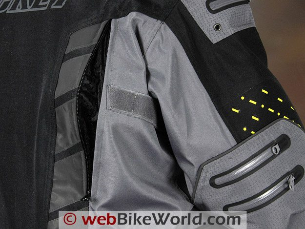 Joe Rocket Dry Tech Nano Jacket Rear Vent
