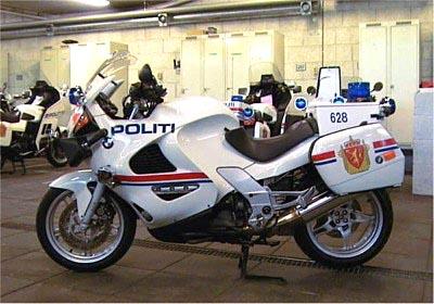 BMW K1200RS Police bike