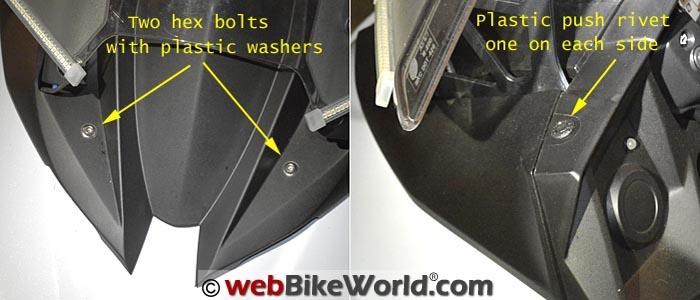 Kawasaki Versys Panel Removal