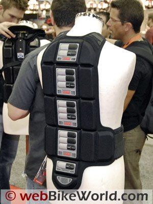 Knox Kompakt back protector