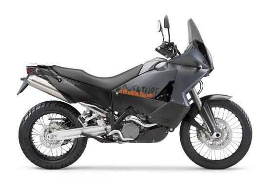 KTM 990 Adventure - Black