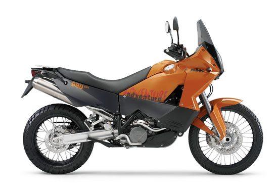KTM 990 Adventure - Orange