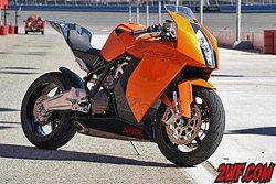 KTM RC8 and KTM Super Duke