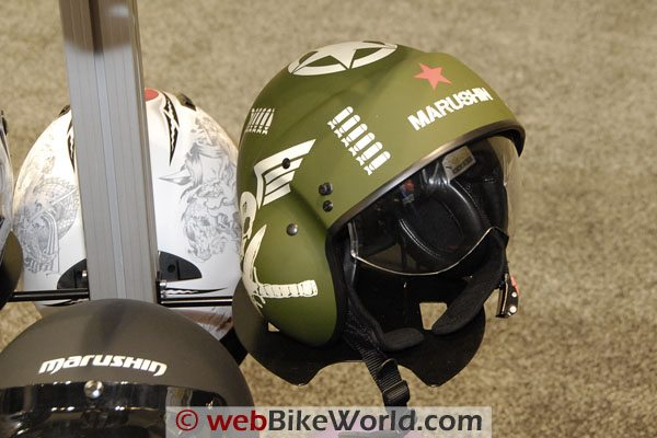 A Marushin version of the Draxtar P-104 helmet.