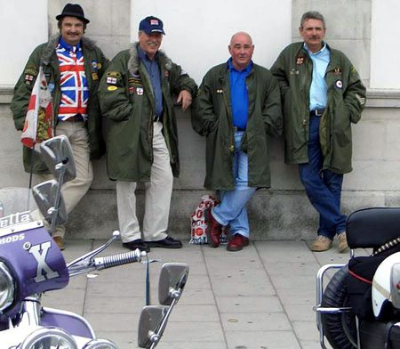 Vintage Mods - Note their Mod-cool jackets