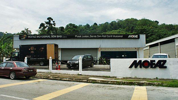 Mofaz Motosikal Sdn Bhd Factory