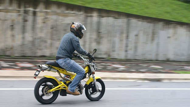 At Speed on the Sachs MadAss 125 in Malaysia
