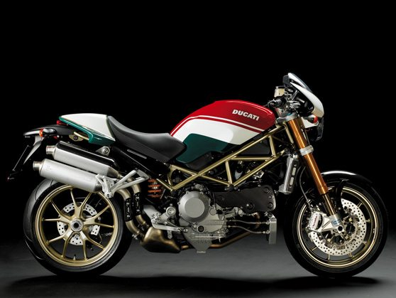 2008 Ducati Monster S4RS Tricolore - Side View