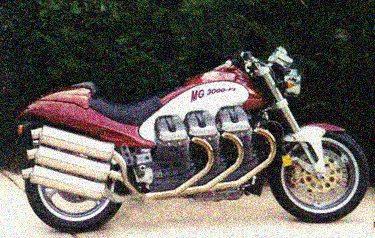 Moto Guzzi 3000 ie - webBikeWorld