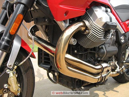 Moto Guzzi Griso - Engine Close-up