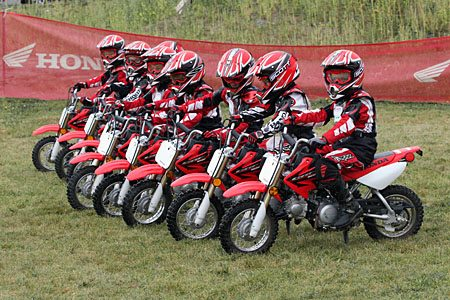 Kids Motocross Training Lineup