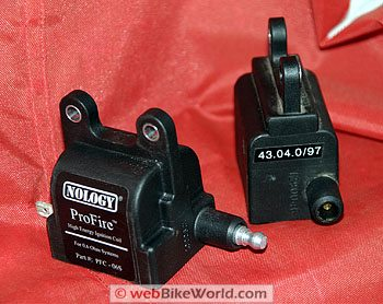 Motorcycle Ignition Coils - webBikeWorld on magnum plug wires, spark plug wires, ngk plug wires,