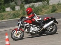 Motorcycle training with Ducati