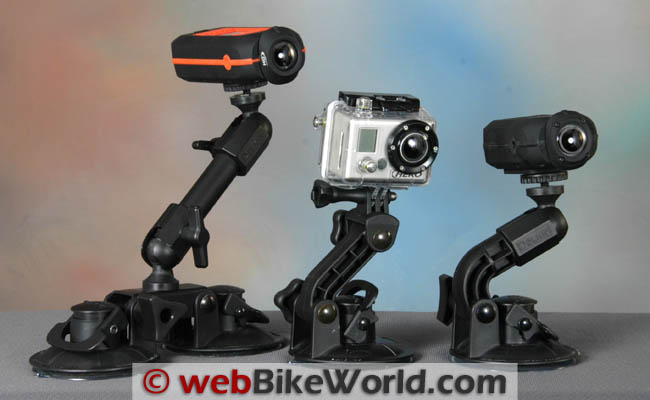 Motorcycle Camera Mounts