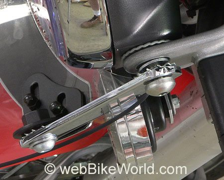 Motorcycle Fly Screen Mounting