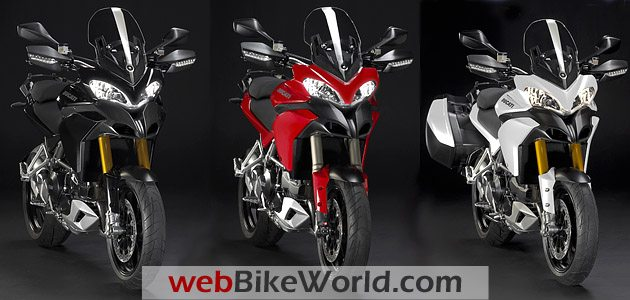 Ducati Multistrada 1200 Front Views