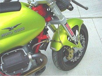 Moto Guzzi V11 Sport Custom, front view