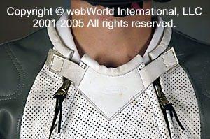 Vanson Volante dual zipper neck closure