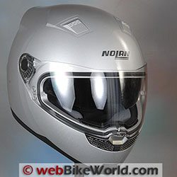 Nolan N85 Helmet - webBikeWorld Motorcycle Helmet of the Year