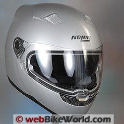 Nolan N85 Helmet - webBikeWorld Motorcycle Helmet of the Year