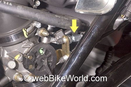 Ducati Throttle Cable Adjuster Nuts