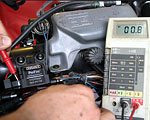 Taking an Ohmmeter Reading