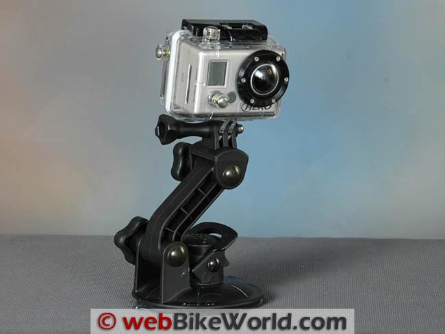 PanaVise GoPro Camera Mount