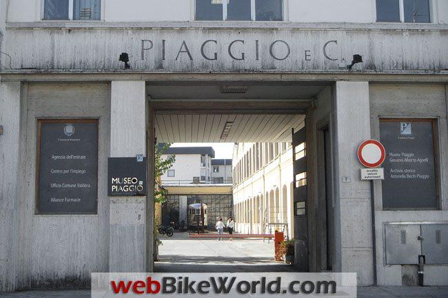 Piaggio Museum Entrance