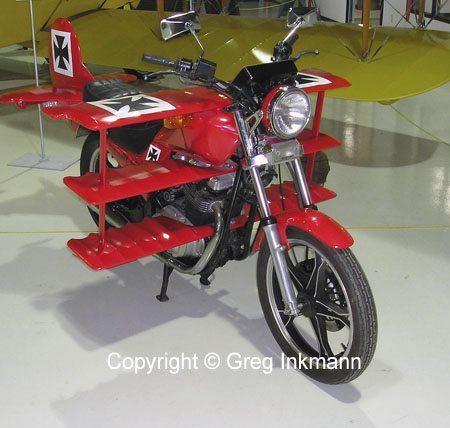 Motorcycle Art - Triplane Conversion