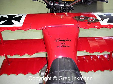 Motorcycle Triplane Conversion - Cockpit
